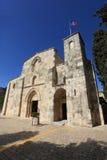 Fasad av kyrkan av St Anne, Jerusalem Royaltyfri Bild