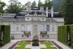 Fasad av slotten Linderhof, Bayern Royaltyfri Fotografi