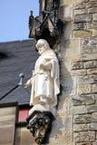 Fasad av stadshuset på Aachen, Tyskland Royaltyfria Bilder
