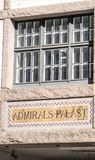 Fasad för amiraler Palast fotografering för bildbyråer