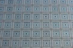 Fasad för `-Institut du Monde Arabe ` Arkivfoto