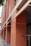 Fasad för tegelstenbyggnad Royaltyfria Bilder