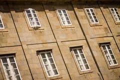 Fasad i den gamla staden Royaltyfria Foton