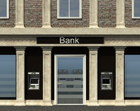Fasada bank gałąź Obraz Royalty Free
