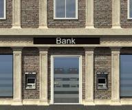 Fasada bank gałąź Zdjęcie Royalty Free