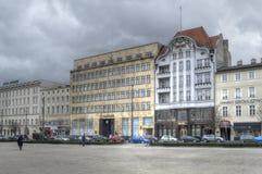Fasada banka budynku PKO banka polski SA, Poznańska Zdjęcia Stock