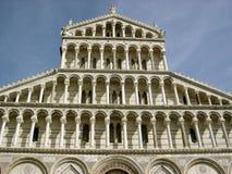 Fasada bazylika w Pisa obrazy stock