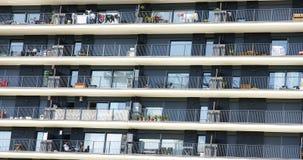 Fasada blok mieszkalny w Collblanc Zdjęcia Stock