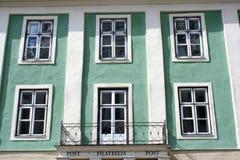 Fasada budynek stary miasteczko Tallin Zdjęcie Royalty Free