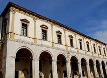 Fasada budynku lombard w Padua w Veneto (Włochy) Fotografia Royalty Free