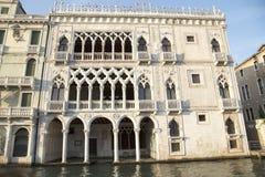 Fasada Ca d «Oro pałac zdjęcie stock