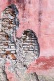 Fasada dilipitated dom w Camaguey, Cu zdjęcie royalty free