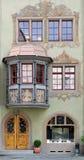 fasada dom Zdjęcia Royalty Free