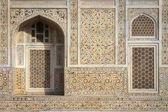 Fasada ` dziecka Taj ` mauzoleum w Agra, India Obraz Stock