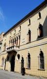 Fasada elegancki budynek w Padova w Veneto (Włochy) Fotografia Stock