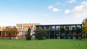 Fasada Federacyjny sąd konstytucyjny Bundesverfassungsgericht zdjęcia royalty free
