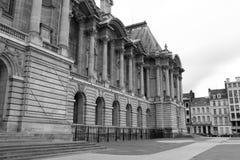 Fasada - galeria sztuki - Lille, Francja - Obraz Royalty Free