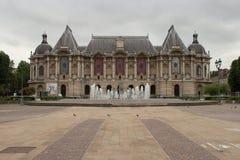 Fasada - galeria sztuki - Lille, Francja - (2) Zdjęcie Stock