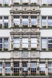 Fasada Hirmer wielki men&-x27; s mody dom w świacie Zdjęcia Royalty Free