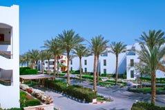 Fasada hotel Obrazy Stock