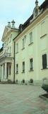 Fasada i główne wejście z kolumnami Obrazy Royalty Free