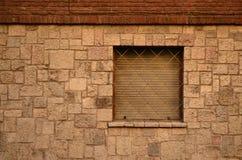 Fasada i okno Obrazy Stock