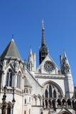 Fasada Królewski sąd w Londo Obraz Royalty Free
