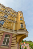 Fasada luksus stwarza ognisko domowe w klasycznym stylu kiev Zdjęcia Stock