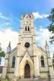 Fasada Luterański kościół fotografia royalty free