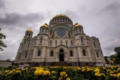 Fasada monumentalna katedra Obraz Stock