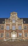 Fasada na cobblestoned podwórzu Ahaus kasztel Obraz Royalty Free