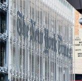 Fasada New York Times budynek w środku miasta Nowy Jork obraz royalty free