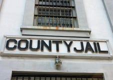 Fasada okręgu administracyjnego więzienie Obrazy Royalty Free