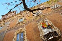 Fasada Palacio Del Marques de Dos Aguas, Walencja Obrazy Royalty Free