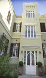 Fasada ponowny stary domowy Izrael fotografia stock