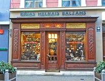 Fasada Ryski Czarnej magii bar Zdjęcia Stock