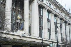 Fasada sławny wydziałowy sklep Selfridges Fotografia Stock
