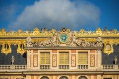 Fasada sławna Versailles górska chata, Francja Obrazy Stock