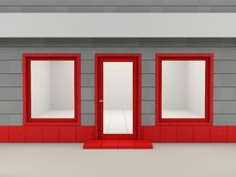 fasada sklep Obrazy Royalty Free