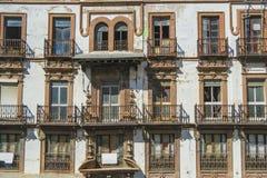 Fasada stary budynek Zdjęcia Stock