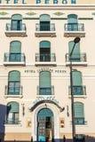 Fasada stary Hotelowy Peron w Marseille, Zdjęcie Stock
