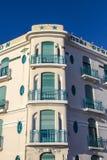 Fasada stary Hotelowy Peron w Marseille, Fotografia Stock