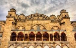 Fasada sułtanu Ahmet meczet w Istanbuł Obrazy Stock
