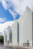 Fasada Szczeciński Filharmoniczny Hall Obrazy Stock
