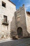 Fasada Tordesillas obrazy stock