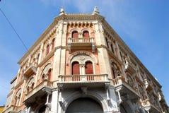 Fasada uroczysty pałac Debite w Padua w Veneto (Włochy) Zdjęcie Stock