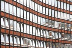 Fasada w Speicherstadt w Hamburg Zdjęcia Royalty Free