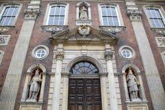 Fasada Worcester ratusz, Anglia Zdjęcie Stock
