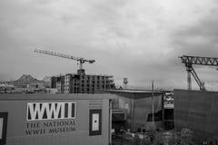 Fasada WWII muzeum w Nowym Olreans (usa zdjęcie stock