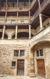 Fasada z balkonem Zdjęcie Royalty Free